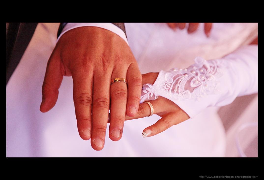La Decoration De Mariage : Photographe mariage les alliances de