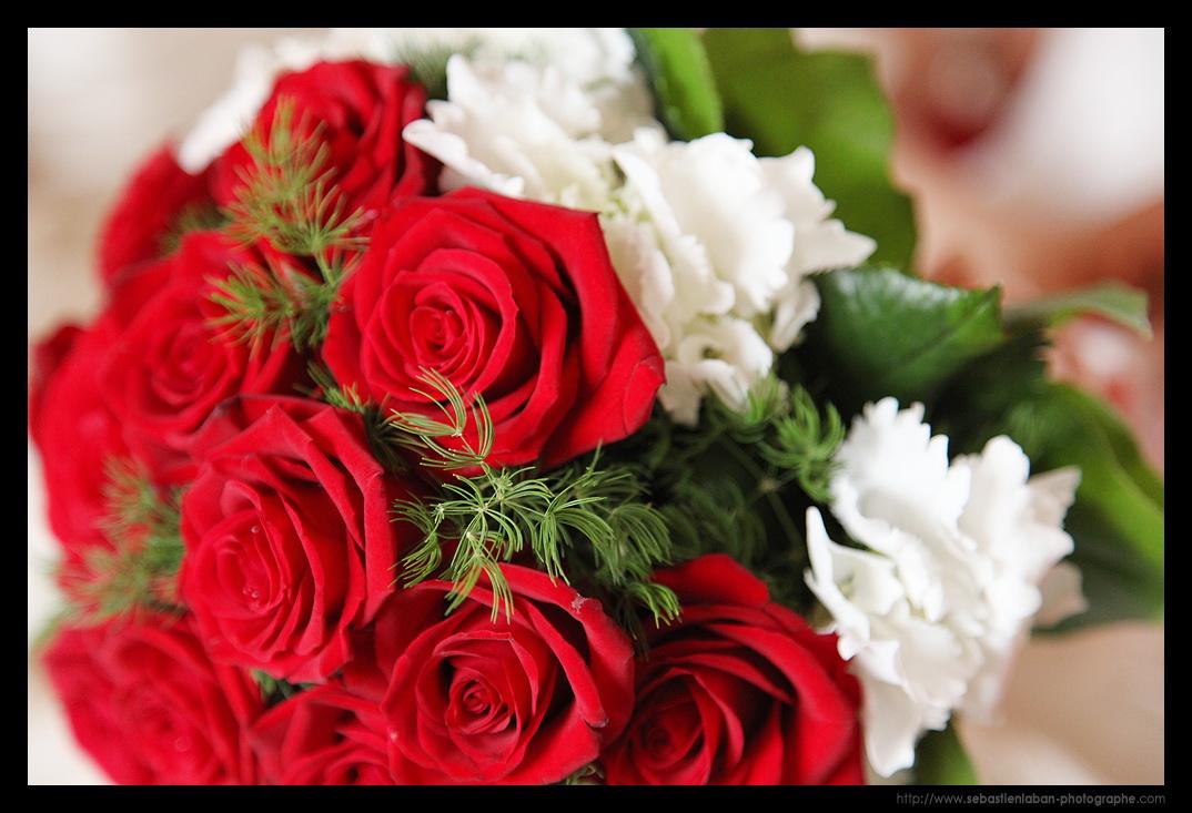 photographe mariage   le bouquet de la mari u00e9e