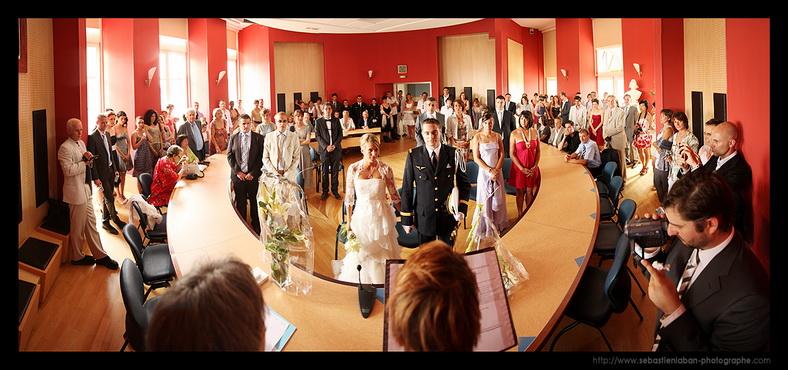 panoramique mariage