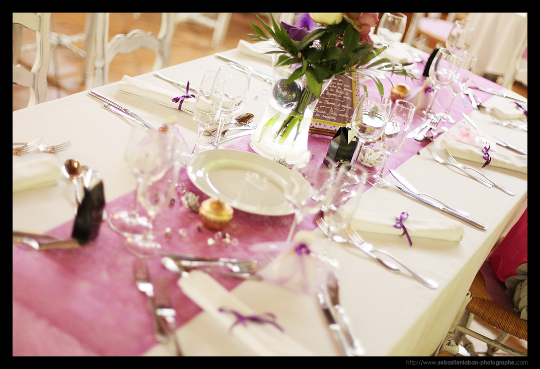 Id es d coration de table mariage par votre photographe - Idee de decoration de table ...