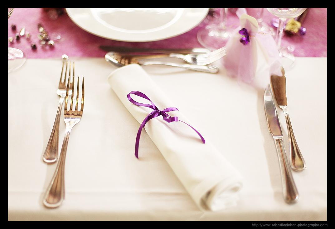 Id es d coration de table mariage par votre photographe mariage photographe de mariage lyon - Serviette de table mariage ...