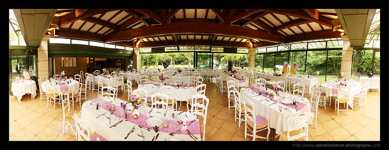 photo mariage table