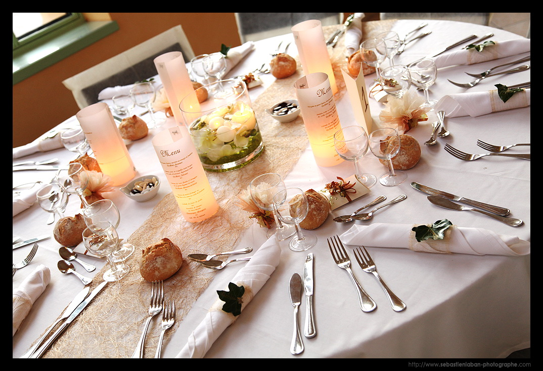 photographe mariage et la table pour la reception suite. Black Bedroom Furniture Sets. Home Design Ideas