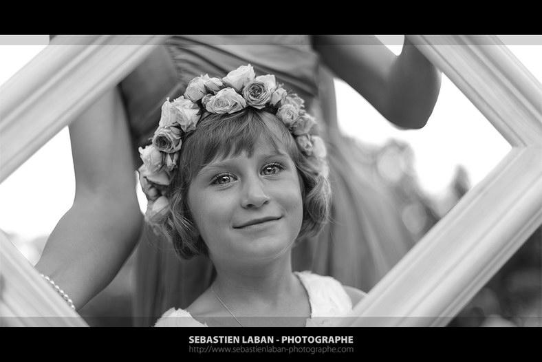 photo mariage invités demoiselle d'honneur