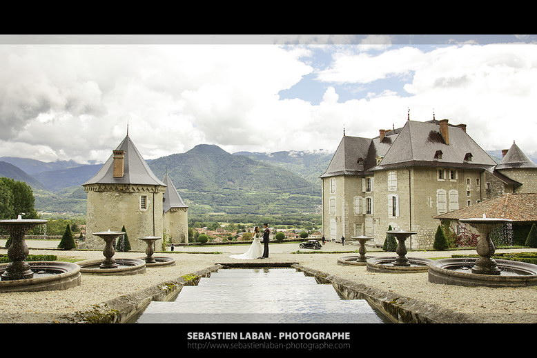 photographe mariage grenoble chateau