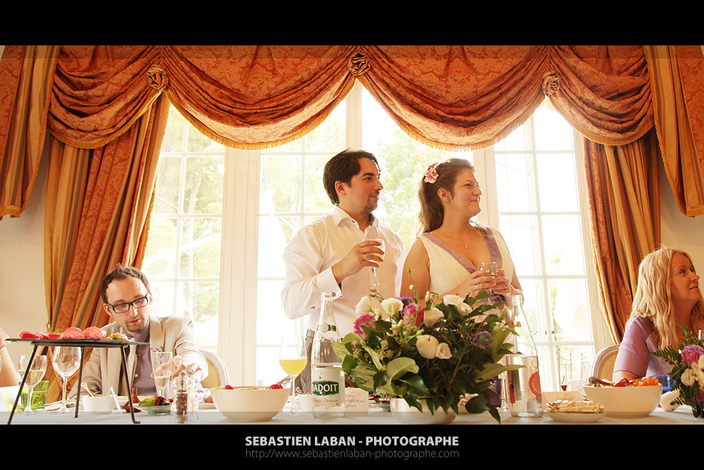 The Reception In The Bastide De Tourtour In France For A Russian